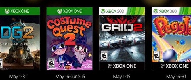 Games with Gold Mai 2016