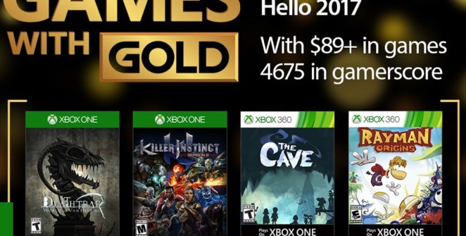 Games with gold janvier 2017