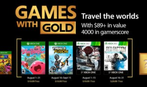 Games with Gold d'Août 2017